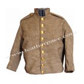 Jean Wool Richmond-Shell Jacket with CSA brass Buttons.