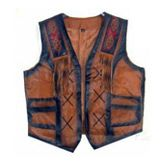 Leather Western Vest